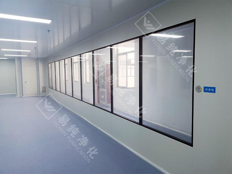 2-3 医疗器械吻合器生产加工GMP十万级净化车间超大参观窗.jpg